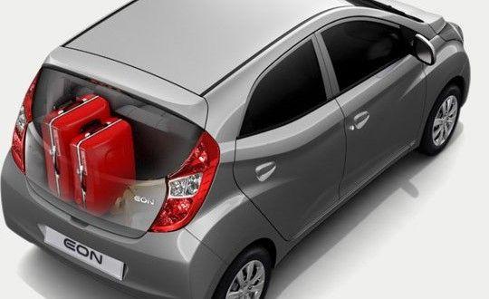 Hyundai EON Exteriors Top View