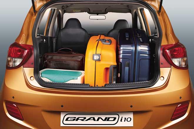 Hyundai Grand i10 Automatic Interiors Bootspace