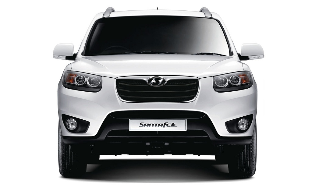 Hyundai Santa Fe Exteriors Front View