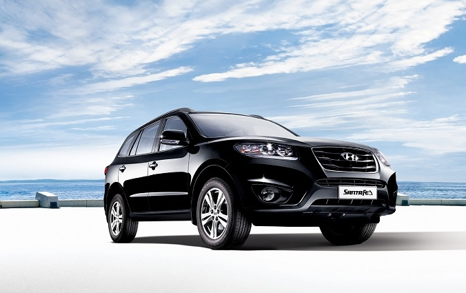 Hyundai Santa Fe Exteriors Overall