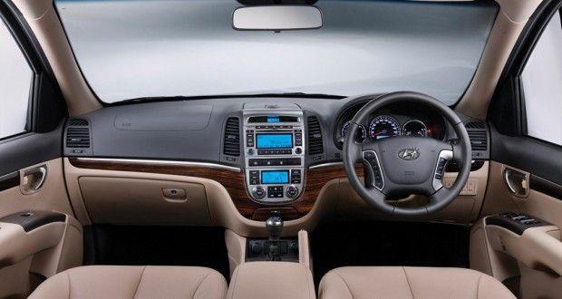 Hyundai Santa Fe Interiors Dashboard