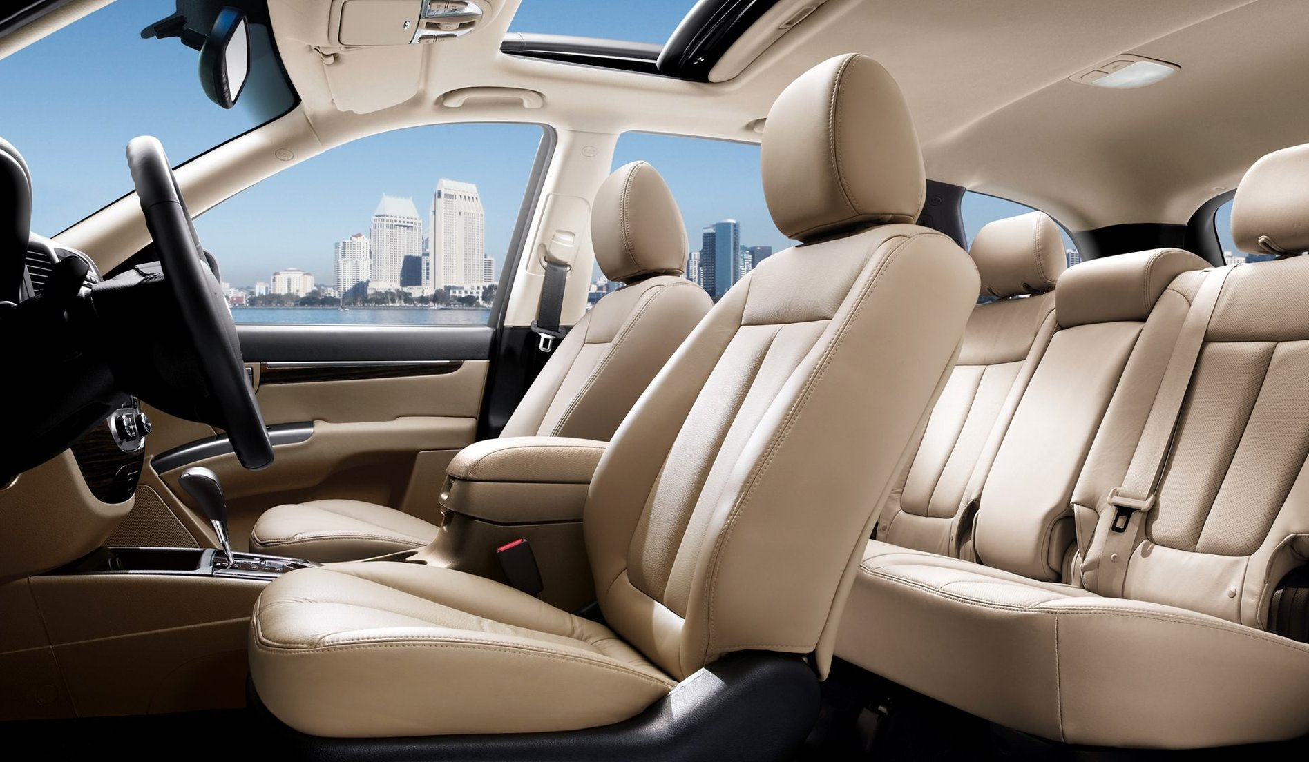 Hyundai Santa Fe Interiors Seats