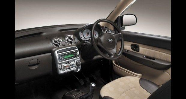 Hyundai Santro xing Interiors Dashboard
