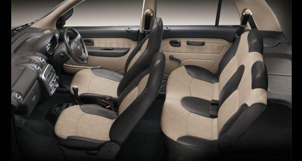 Hyundai Santro xing Interiors Seats
