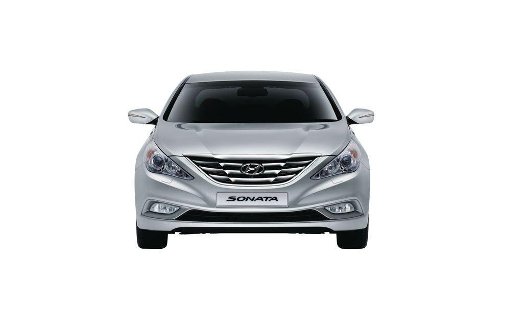 Hyundai Sonata Exteriors Front View