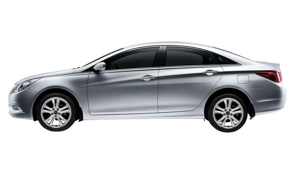 Hyundai Sonata Exteriors Side View