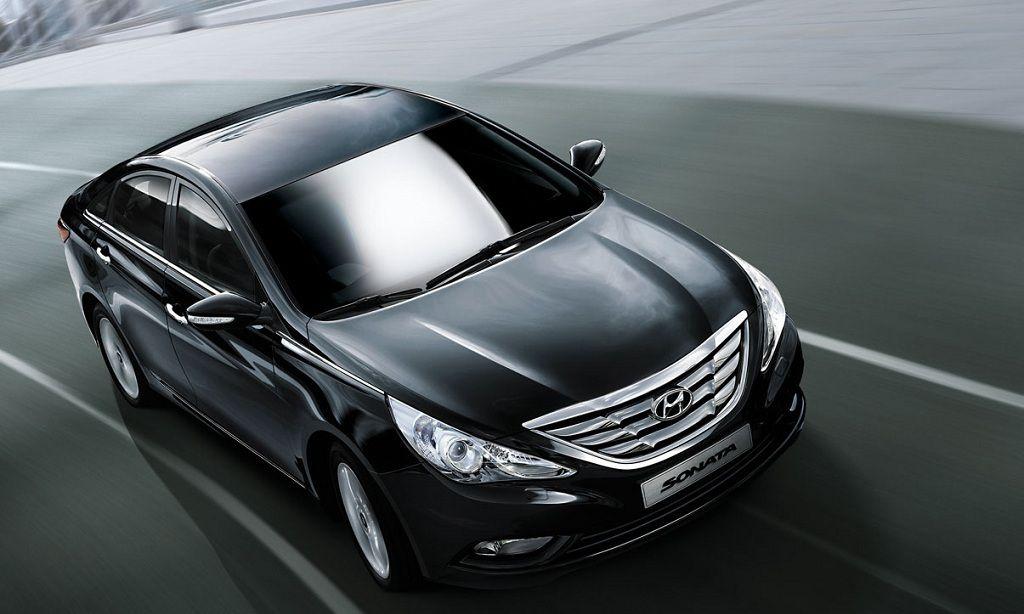 Hyundai Sonata Exteriors Top View
