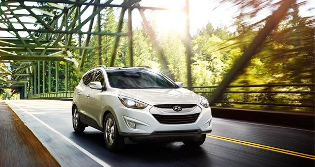 Hyundai Tucson Exteriors Front View