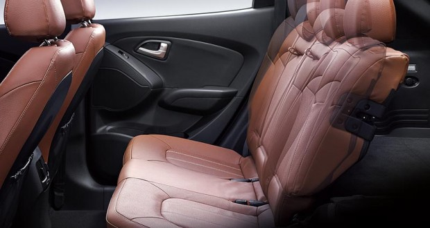 Hyundai Tucson Interiors Seats