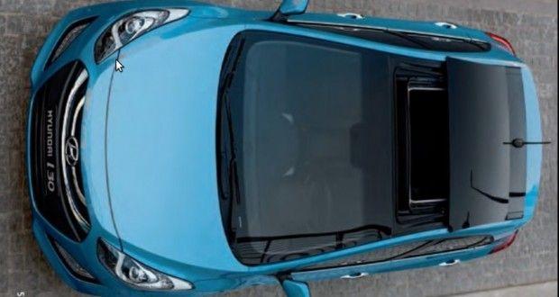 Hyundai i30 Exteriors Top View