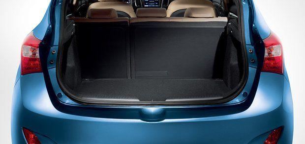 Hyundai i30 Interiors Bootspace