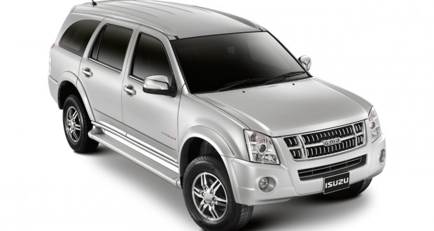 Isuzu MU 7 Exteriors Top View