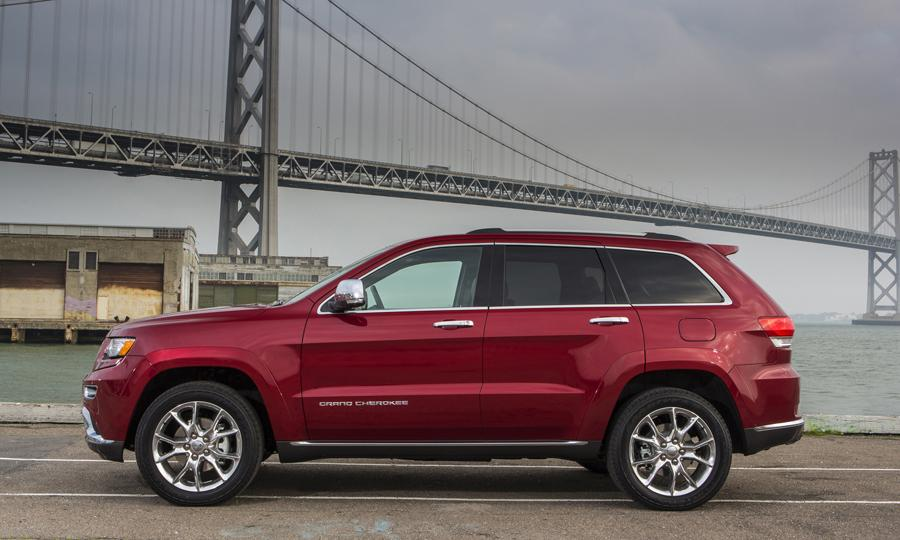 Jeep Grand Cherokee Exteriors Side View
