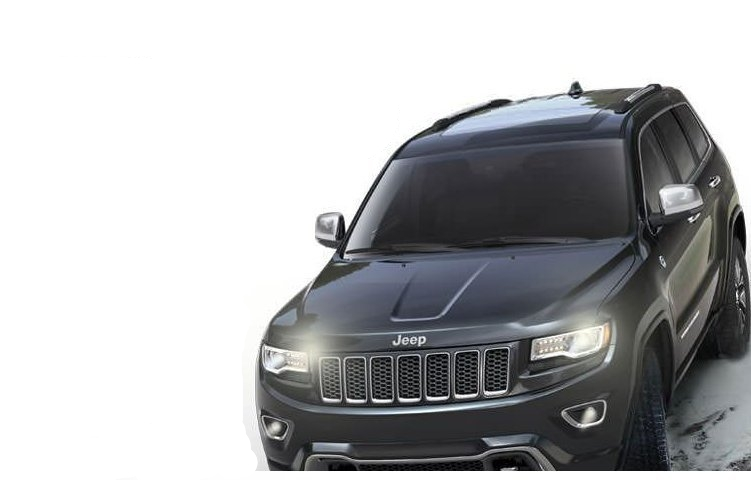 Jeep Grand Cherokee Exteriors Top View