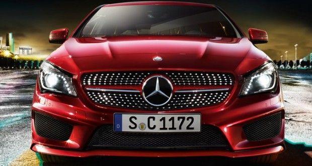Mercedes-Benz CLA Exteriors Front View