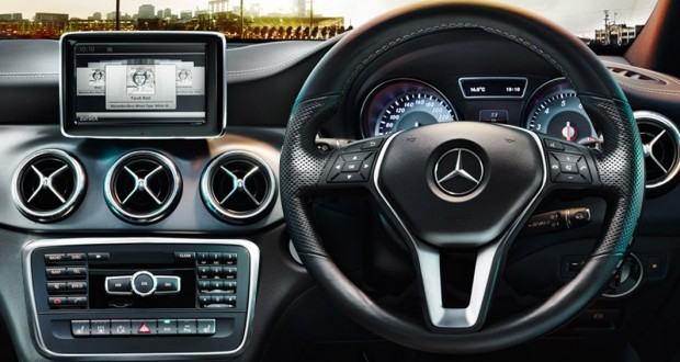 Mercedes-Benz CLA Interiors Dashboard
