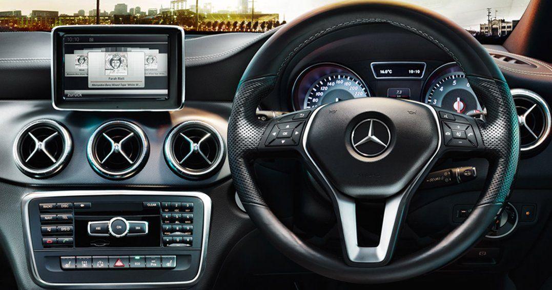 Mercedes-Benz CLA Interiors Dashboard
