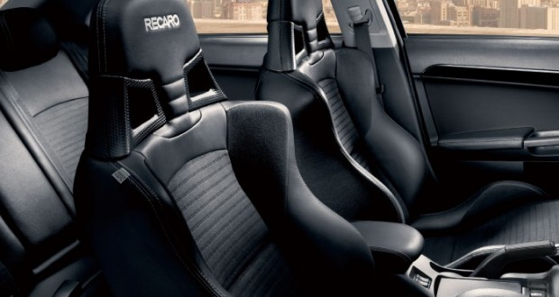 Mitsubishi New Lancer Interiors Seats