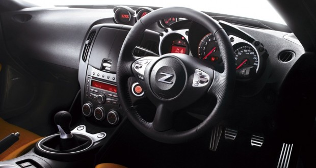 Nissan 370Z Interiors Dashboard