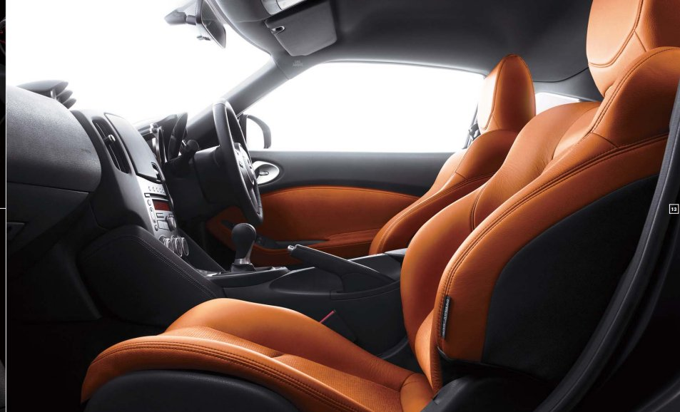 Nissan 370Z Interiors Seats
