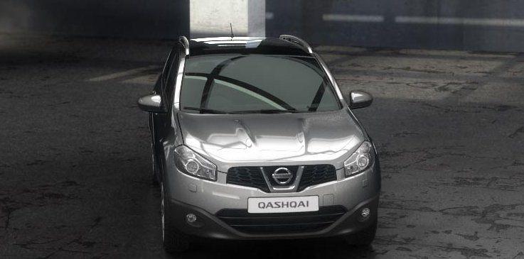Nissan Qashqai Exteriors Top View