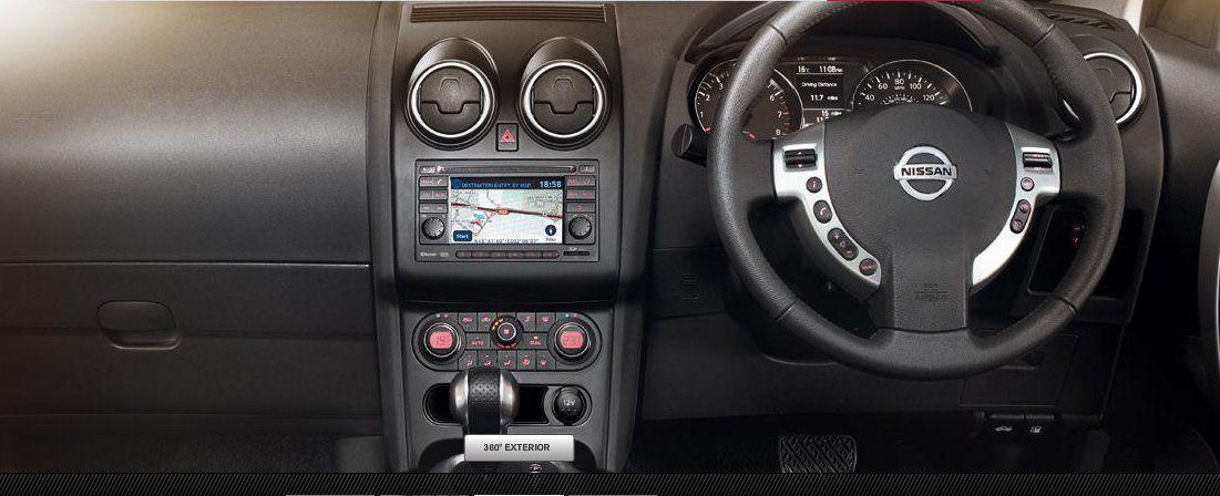 Nissan Qashqai Interiors Dashboard