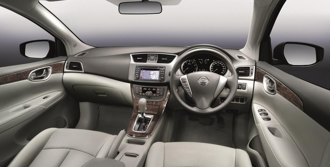 Nissan Sylphy Interiors Dashboard