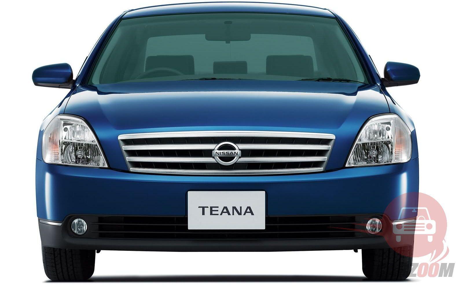Nissan Teana Exteriors Front View