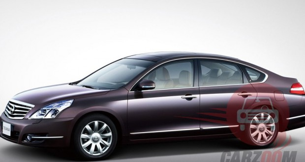 Nissan Teana Exteriors Side View
