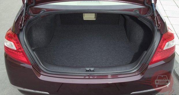 Nissan Teana Interiors Bootspace