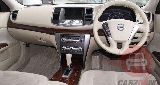 Nissan Teana Interiors Dashboard