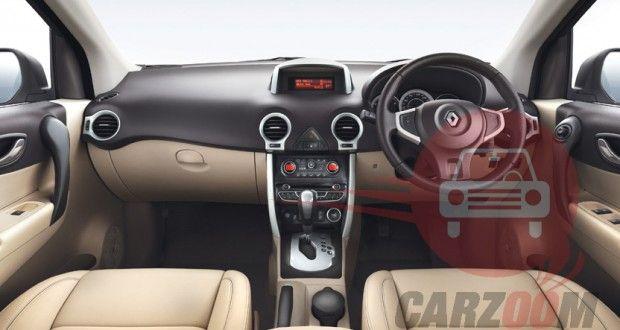 Renault Koleos Interiors Dashboard