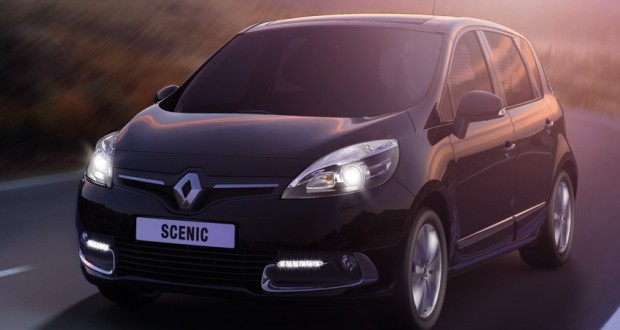 Renault Scenic Exteriors Front View