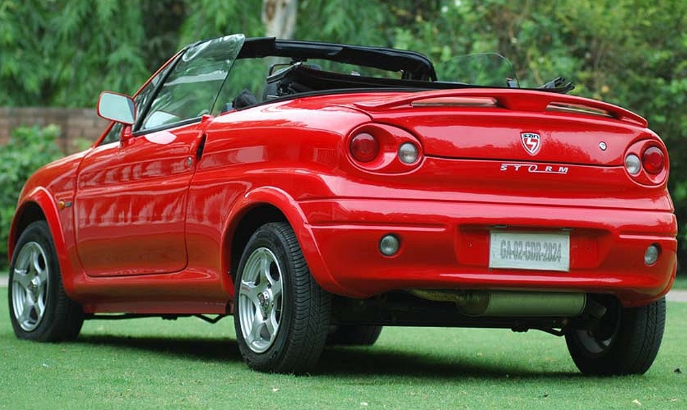 san motors storm price  india  specification