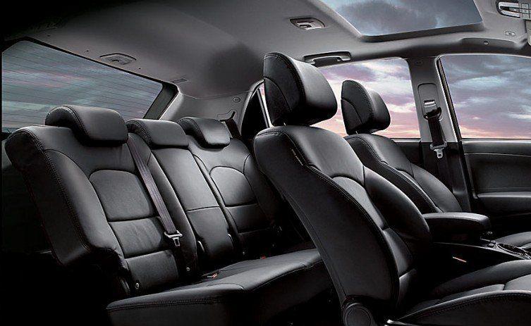 Ssangyong Korando Interiors Seats