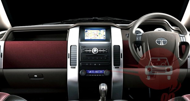 Tata Aria Interiors Dashboard