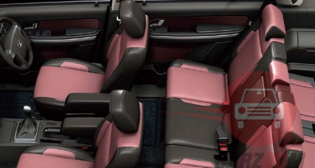Tata Aria Interiors Seats