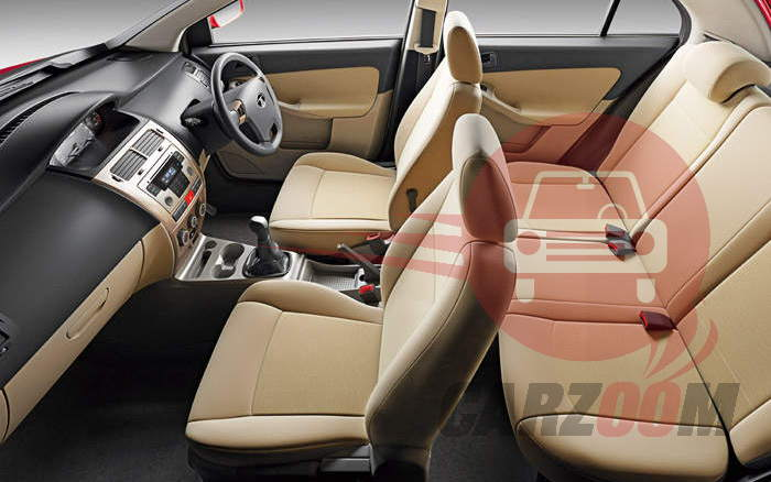 Tata Indica Vista Interiors Seats