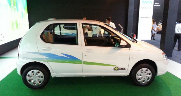 Tata Indica cng Exteriors Side View