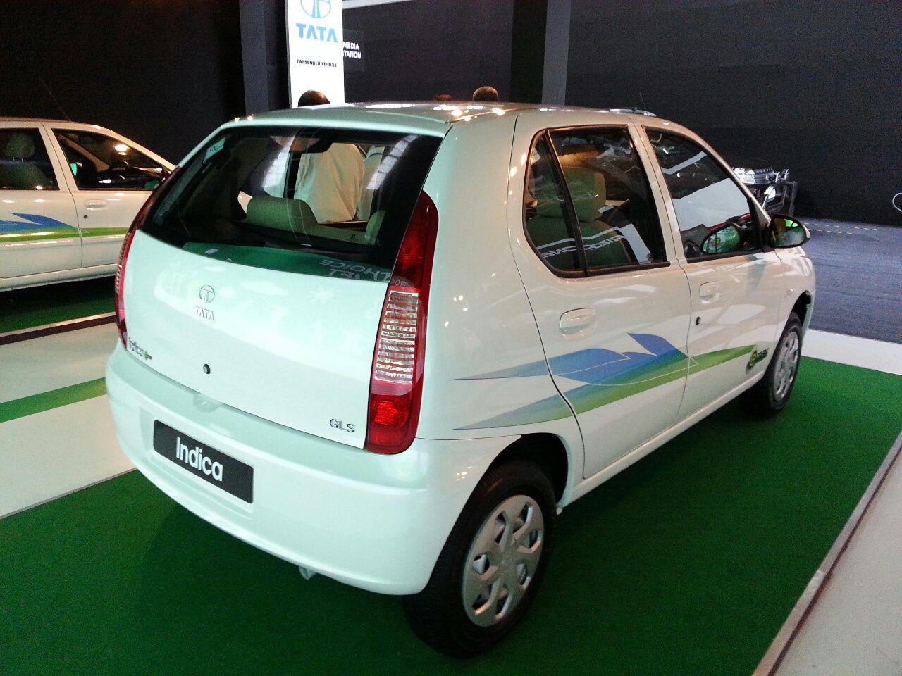 Tata Indica eV2 emax  Exteriors Top View