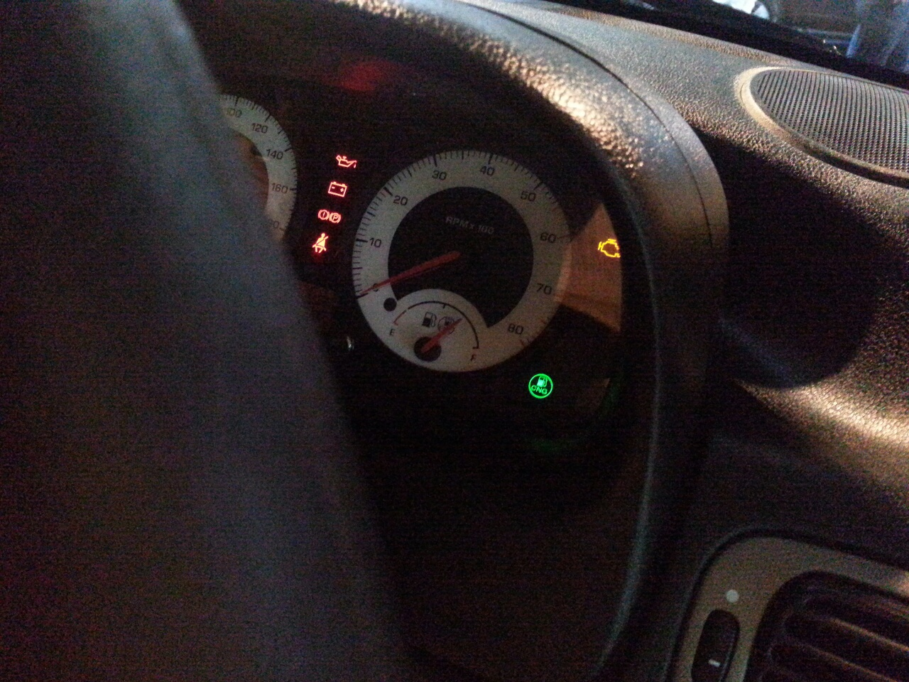 Tata Indigo eCS emax Interiors Dashboard