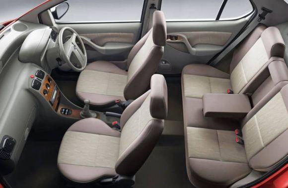 Tata Indigo eCS emax Interiors Seats
