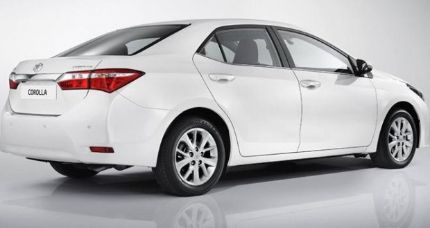 Toyota Corolla-2014 Exteriors Side View