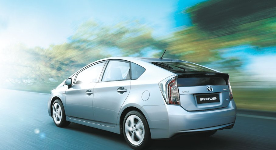 Toyota Prius Exteriors Side View