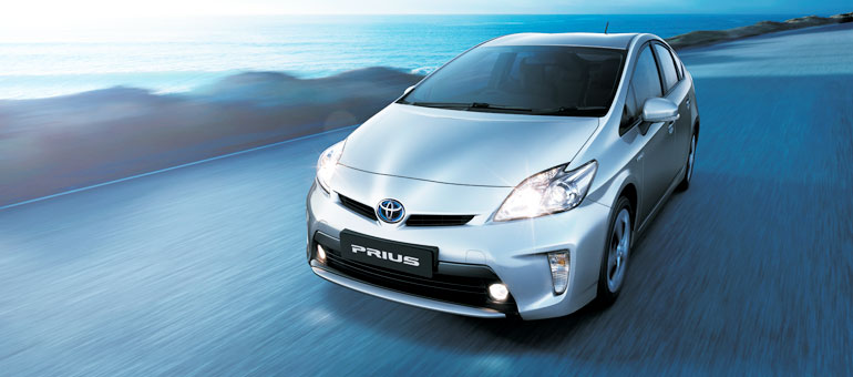 Toyota Prius Exteriors Top View