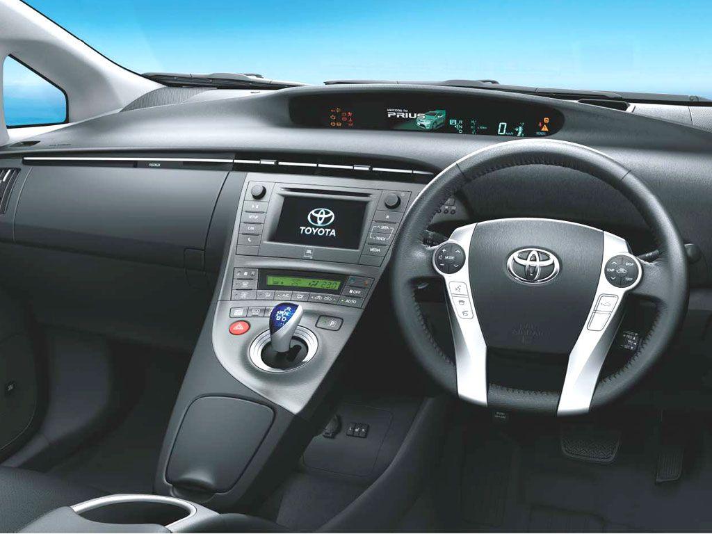Toyota Prius Interiors Dashboard