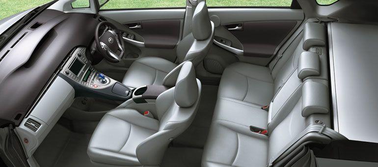 Toyota Prius Interiors Seats