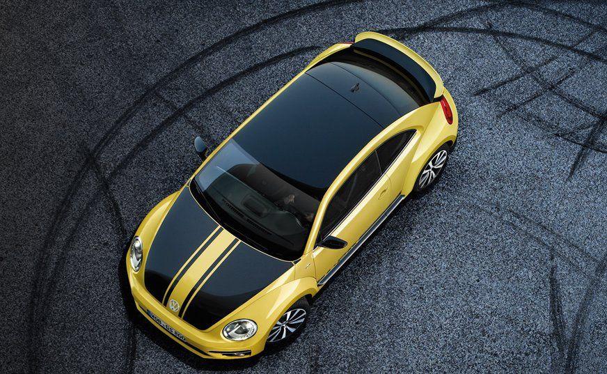 Volkswagen New Beetle Exteriors Top View