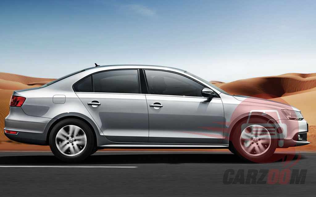 Volkswagen New JETTA Exteriors Side View