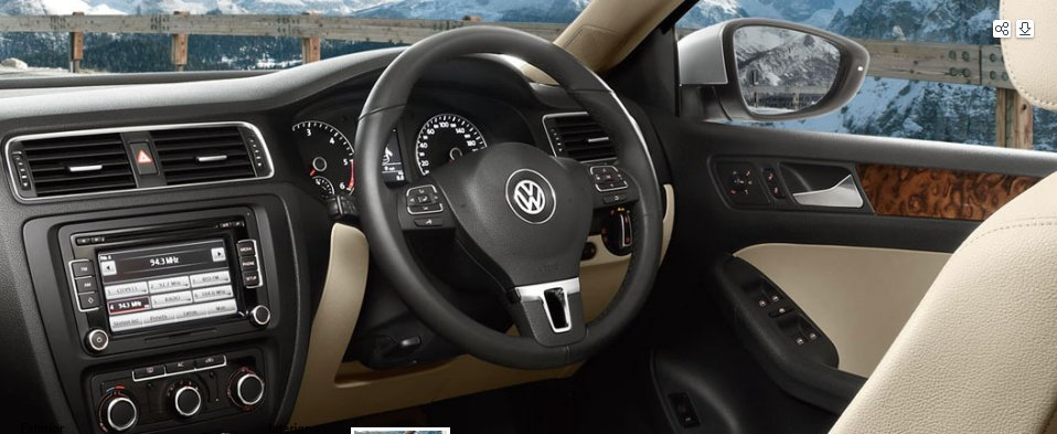 Volkswagen New JETTA Interiors Dashboard